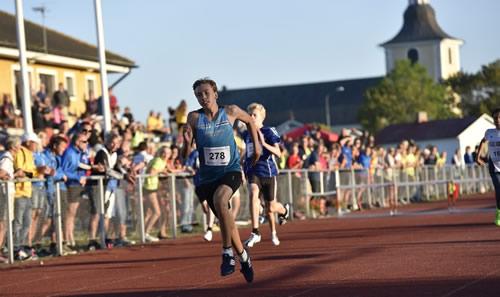 Mattias Andersson - GM-guld P13, 200 m häck