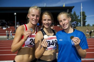 Frida Persson/Olivia Kempi - silver/brons F16 800 m, USM 2014