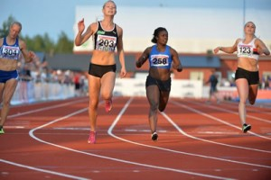 Daniella Busk 100 m SM 2015