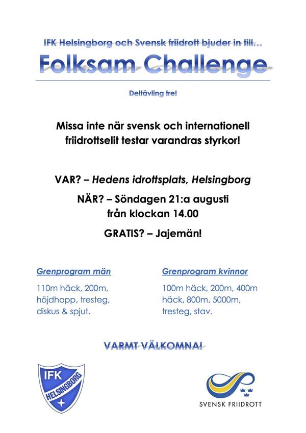 Folksam Challenge Hbg 2016