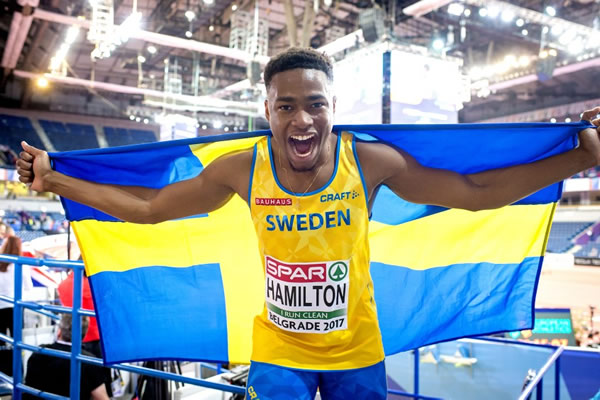Austin Hamilton - IEM-brons 60 m