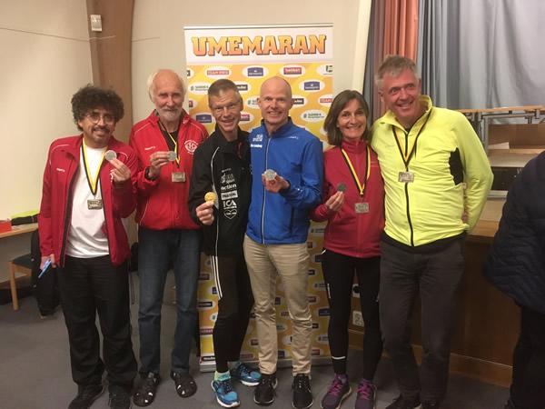 Skånska deltagare i VSM Marathon 2018 Foto: Britt-Marie Andersson